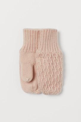 H&M Knit Mittens