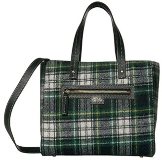 Frances Valentine Small Henry Shopper (Plaid) Handbags