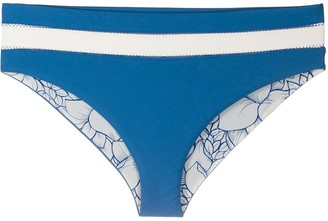 Marysia Swim Striped Bikini Bottoms