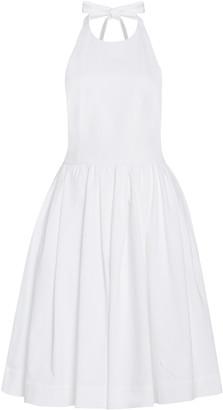 Prada Cotton Mini Halter Dress