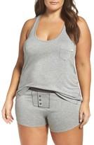 Honeydew Intimates Plus Size Women's Ribbed Short Pajamas