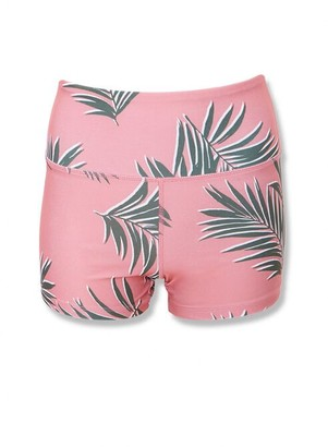 Forever 21 Active Tropical Print Biker Shorts