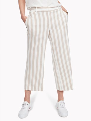 Tommy Hilfiger Essential Cropped Wide-Leg Pant