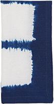 Kim Seybert Congo Napkin-WHITE, BLUE, NAVY