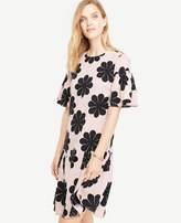 Ann Taylor Tall Flower Power Shift Dress