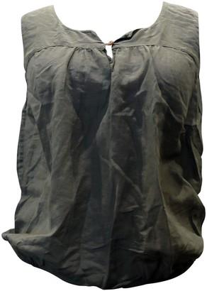 Trussardi Anthracite Cotton Top for Women