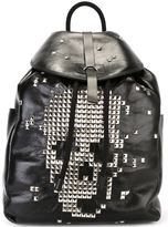 Alexander McQueen studded skull backpack