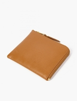 Comme Des Garcons Wallet Tan Luxury Leather Coin Wallet