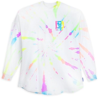 Disney Walt World Neon Splatter Spirit Jersey for Adults