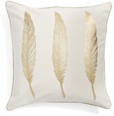 Levtex 'Gold Feathers' Pillow