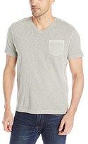 Kenneth Cole New York Kenneth Cole Men's Ultra Soft Acid Wash V-Neck Pocket T-Shirt