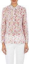 Barneys New York Women's Floral Voile Shirt