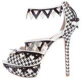 Sophia Webster Woven Platform Sandals