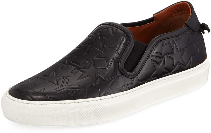 Givenchy Low Star-Embossed Skate Sneakers