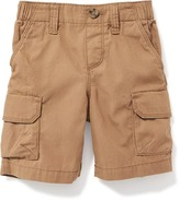 Old Navy Pull-On Canvas Cargo Shorts for Toddler Boys