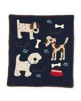 Artwalk Art Walk Kid's Woof Woof Knit Blanket
