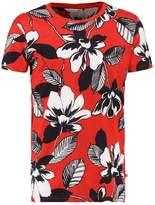 Samsøe & Samsøe Arley Print Tshirt Red Maui