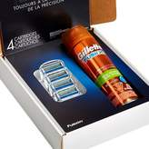 Gillette Fusion® Manual Razor Blade Refill Pack 4 Count With Shave Gel Subscription Pack