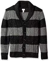 Dockers Big and Tall Shawl Collar Button Front Cardigan