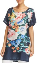 Johnny Was Floral Print Tunic