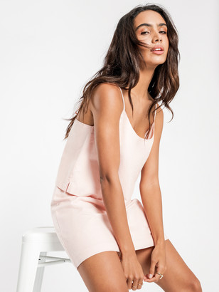 Nude Lucy Darcy Linen Skirt in Pink Shell
