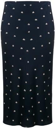 Joseph Frances Scribble Spot skirt
