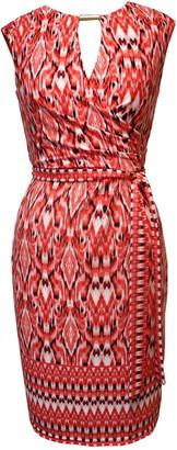 Sandra Darren Extended Sleeve ITY Knit Sheath Dress