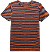Nudie Jeans - Ove Striped Organic Cotton-jersey T-shirt