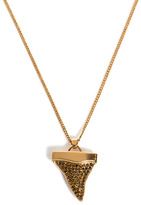 Givenchy Embellished shark tooth necklace