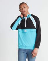 Kappa Hooded Logo Windbreaker Jacket