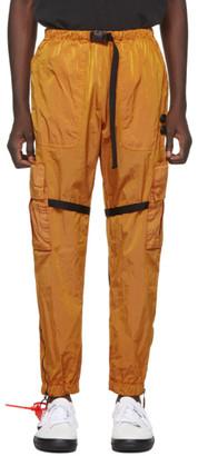 Off-White Off White Orange Parachute Cargo Pants