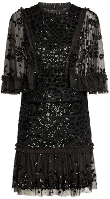 Needle & Thread Sequin Melody Mini Dress