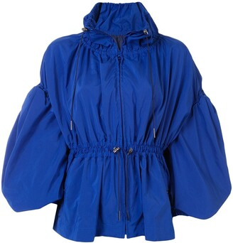 Enfold Drawstring Waist Jacket