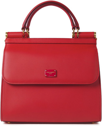 Dolce & Gabbana Sicily 58 Leather Tote