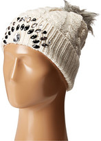 Betsey Johnson Family Jewels Beanie Hat