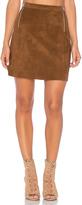 1 STATE A Line Zipper Skirt