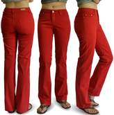 Keep In Touch WOMENS DK. COLOR DENIM STRETCH JEANS SIZE: