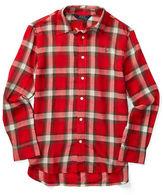 Ralph Lauren Girls 7-16 Plaid Button-Front Shirt