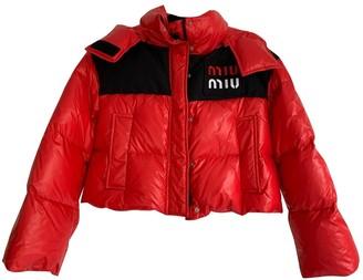 Miu Miu Red Jacket for Women