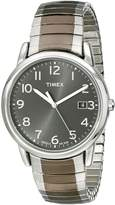Timex Men's Elevated Classics T2N949 Stainless-Steel Quartz Watch