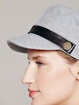 Hat Attack Leather Banded Cabbie