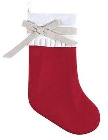 C&F Home Lumi Linen Christmas Stocking