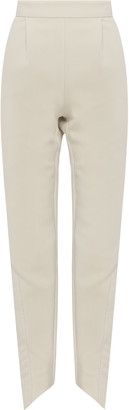 Aje Motocyclette Quilted Crepe Skinny Pants
