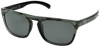 Kaenon Leadbetter (Deep Ocean/Grey 12 Polarized) Athletic Performance Sport Sunglasses