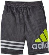 adidas Racer Short (Toddler/Kid) - Dark Grey - 4