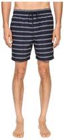 Jack Spade Drawn Striped Swim Trunk Men's Swimwear