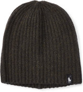 Polo Ralph Lauren Men's Ribbed Knit Cap