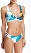 Carmen Marc Valvo Strappy Side Bikini Bottom