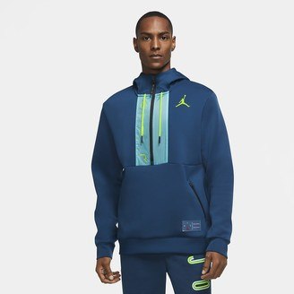 Nike Mens Fleece Pullover Hoodie Jordan Air