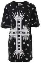 Fausto Puglisi Women's White/black Cotton Dress.